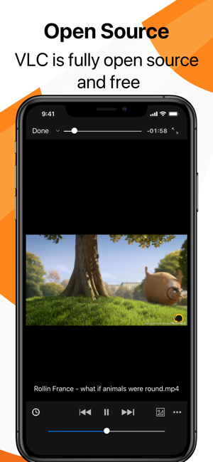 ‎VLC for Mobile Screenshot