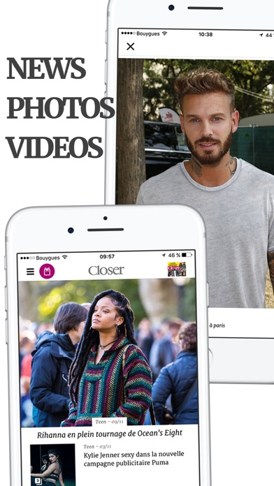 Screenshot #2 pour Closer – Actu et exclus People
