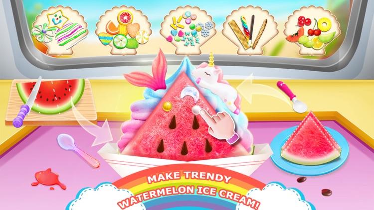 Unicorn Chef: Ice Foods Games screenshot-4