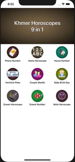 Khmer Horoscopes 9 in 1 on the App Store