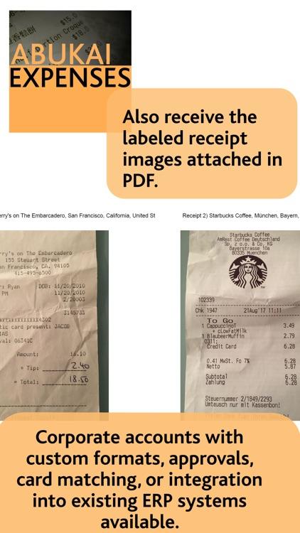 ABUKAI Expense Reports Receipt screenshot-5