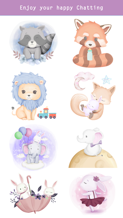 Fairytale Baby Animal Stickers screenshot 5