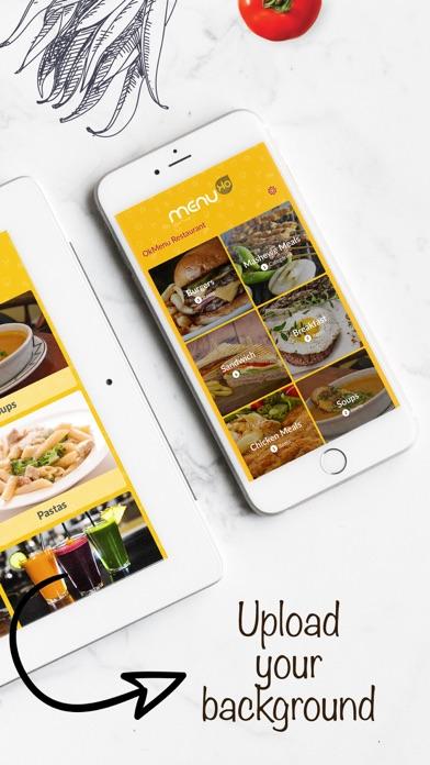 Ok Menu - Restaurants Menu App screenshot two