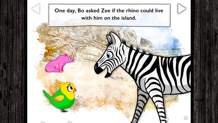 Pink Rhino - Read-Aloud Book screenshot-5