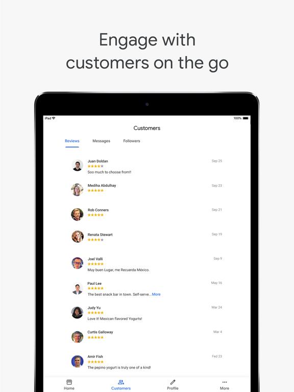 Google My Business-ipad-2