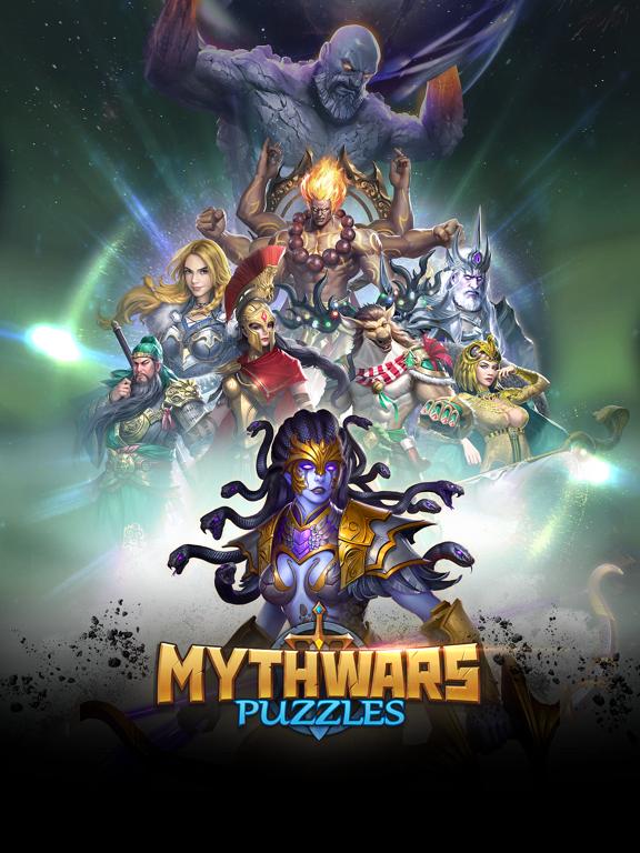 MythWars & Puzzles:RPG Match 3 на iPad