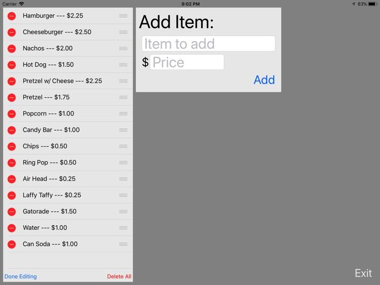 Cashister screenshot-4