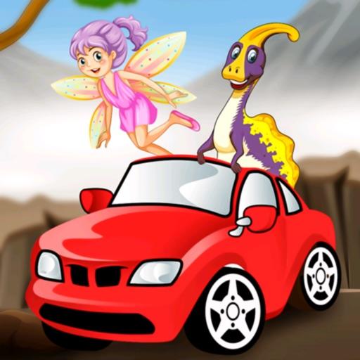 Driver Dino Tales Cute Puzzle