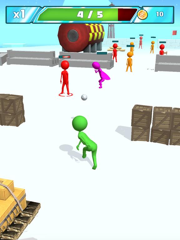 Snowballs fight screenshot 6