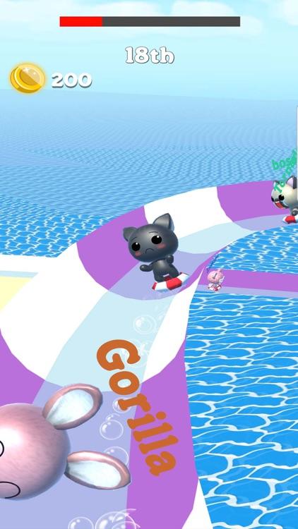 Water Slide Park Cat: Aquapark screenshot-3