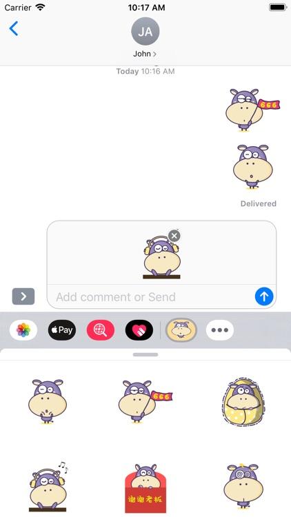 Purple Hippo screenshot-3