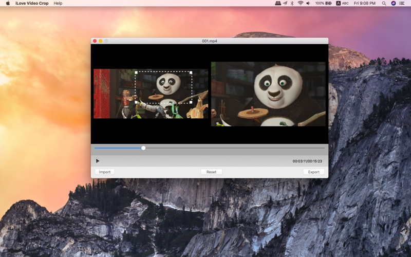 iLove Video Crop for Mac