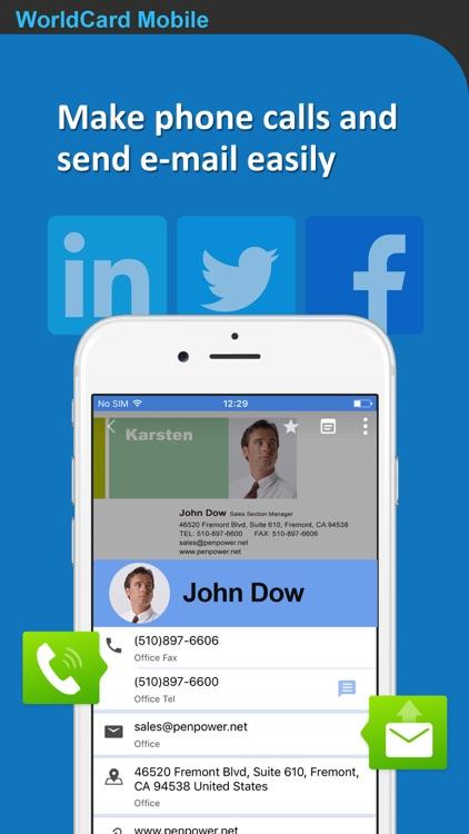 WorldCard Mobile Lite screenshot-3