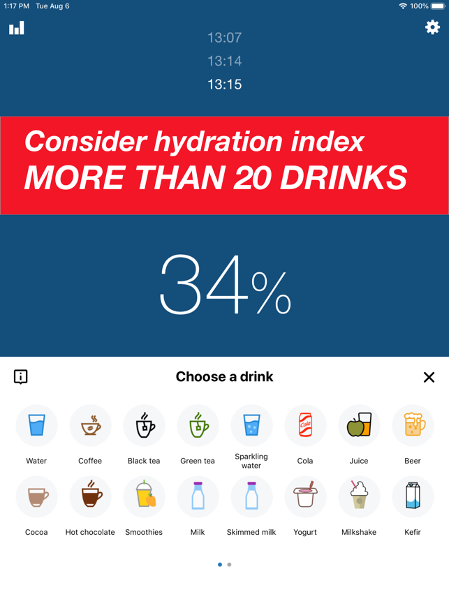 Drink Water Reminder & Counter Screenshot