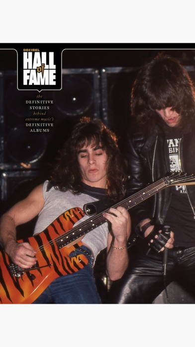 Decibel Magazine - America's Heavy Metal Monthly Screenshot