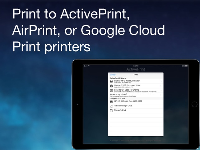 SR2 Solutions Adds Scanning and File Encryption to ActivePrint App Image