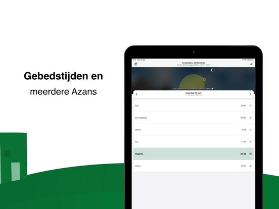 Muslim Pro: Islam Koran Athan iPad app afbeelding 2