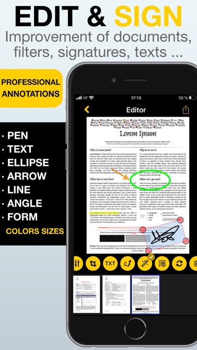 Scan Easy - PDF Scanner App screenshot 2