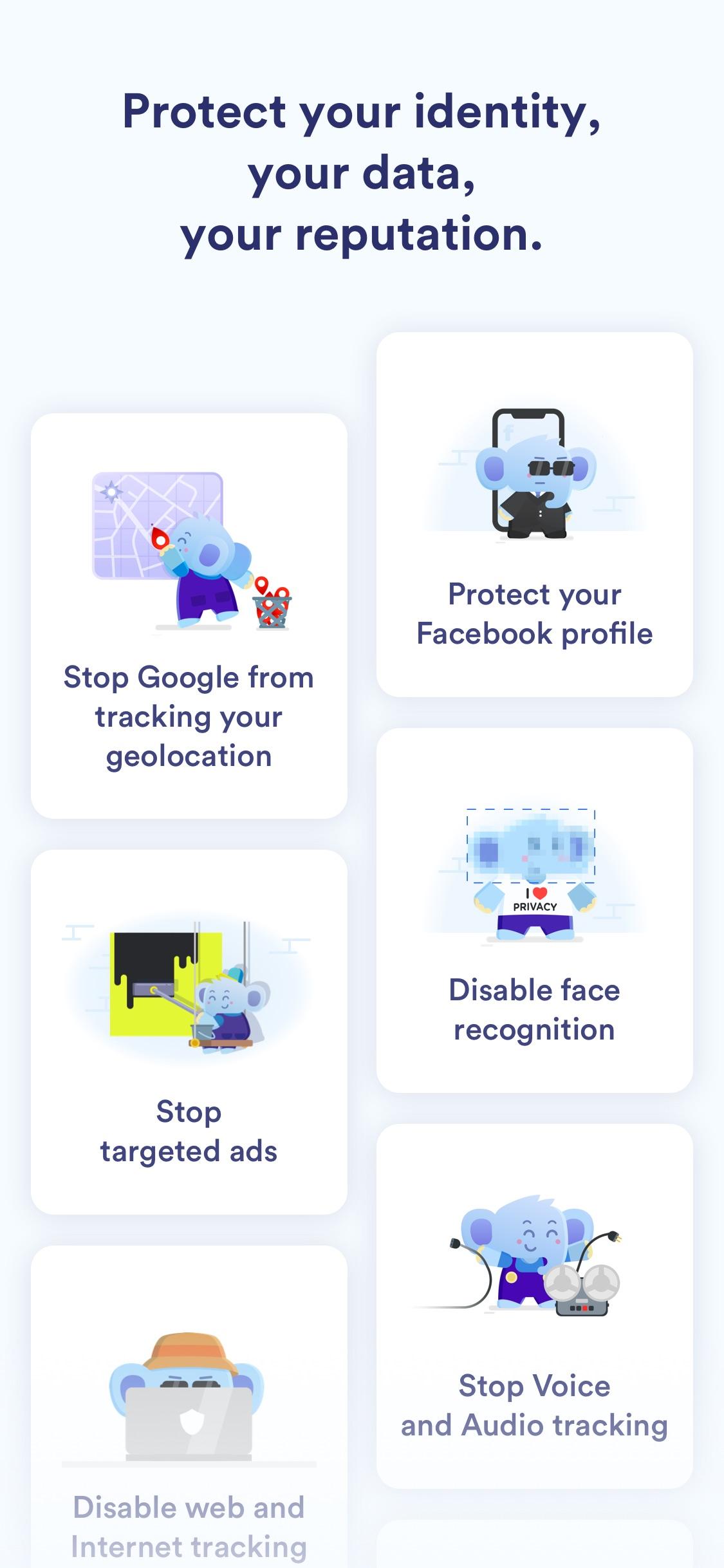Screenshot do app Jumbo: Privacy