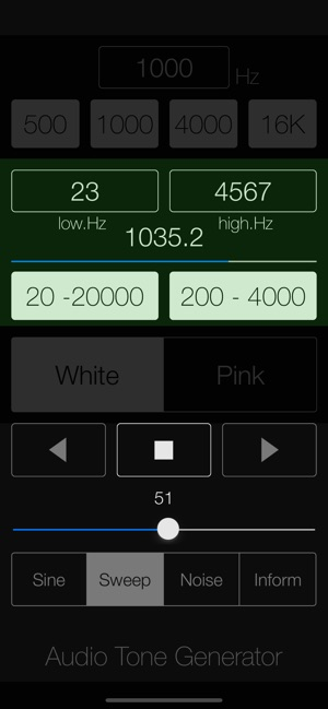 Audio Tone Generator Lite on the App Store