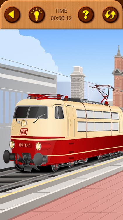 Train Jigsaw Puzzles for Kids screenshot-6