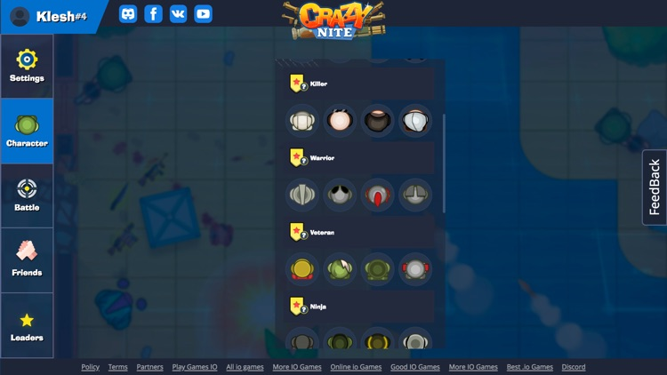 Crazynite.io screenshot-5