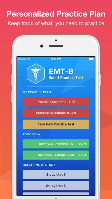 EMT Basic Exam Smart Prep + screenshot four