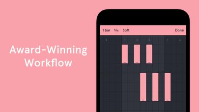 Auxy Pro - Music & Beat Maker Screenshot on iOS