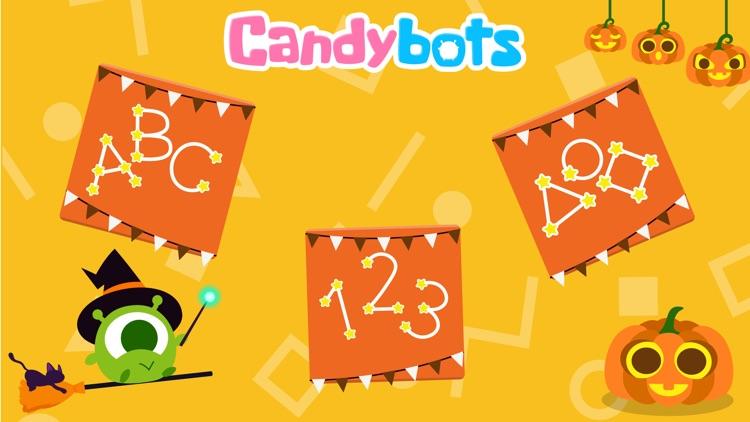 CandyBots Tracing Kids ABC 123 screenshot-0