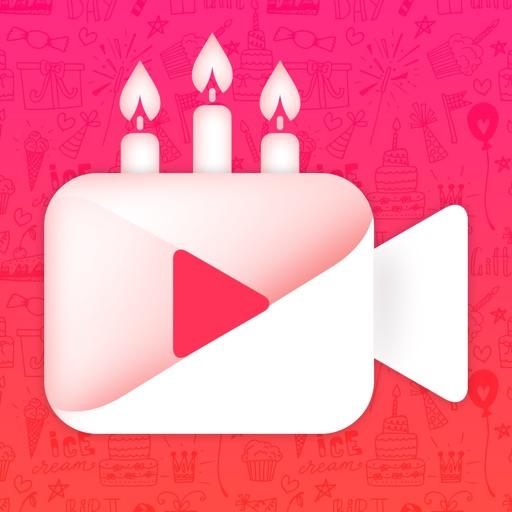 Happy Birthday Video EditorPic