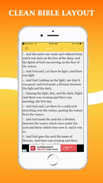 Bible In Basic English - BBEScreenshot of 1