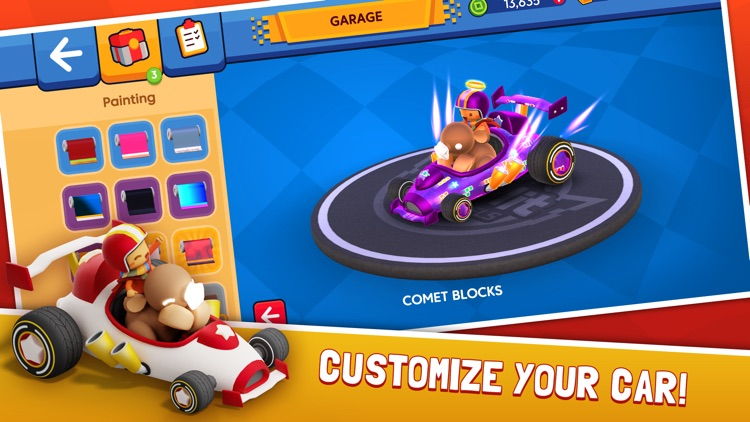 Starlit On Wheels: Super Kart screenshot-5