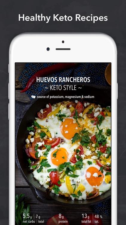 Keto Diet Recipes + Carb App