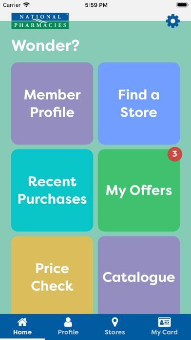 National Pharmacies screenshot one
