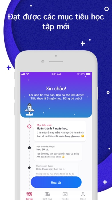 Screenshot for Rocka: Học tiếng Anh in Viet Nam App Store