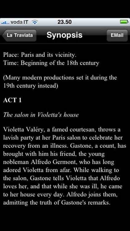 Opera: La Traviata screenshot-3