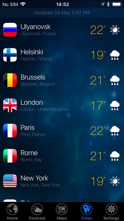 3D EARTH the weather forecast screenshot-6
