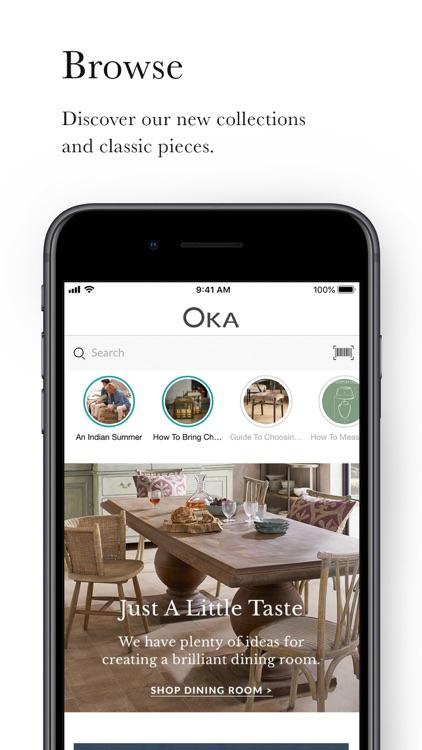 OKA - Luxury British Interiors