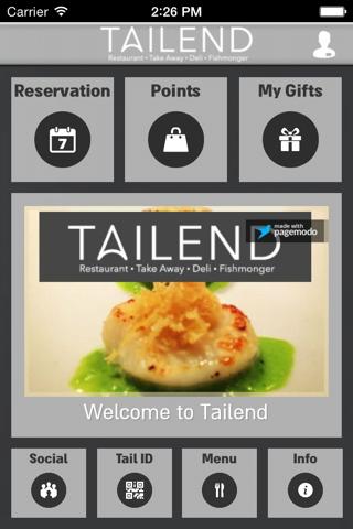 TAILEND - náhled