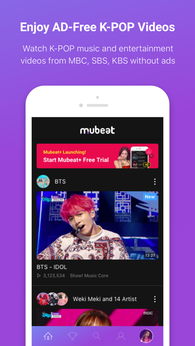Mubeat for KPOP Lovers by Vlending Co , Ltd  (iOS, United