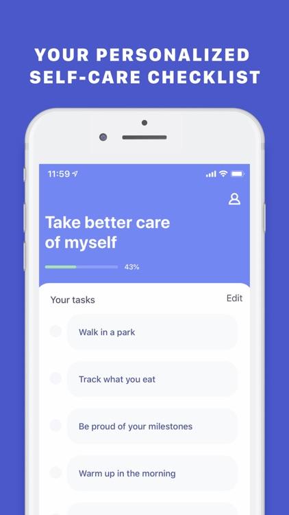 Self-Care Checklist by GrowApp