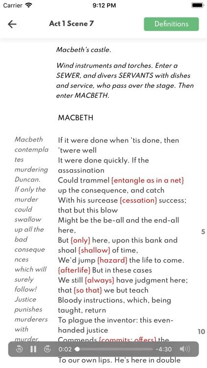 Macbeth Full Audio screenshot-3