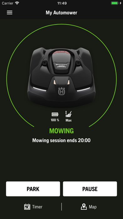 Screenshot for Automower Connect in Denmark App Store