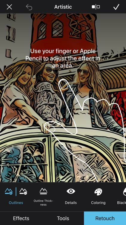 BeCasso: Photo to Painting App