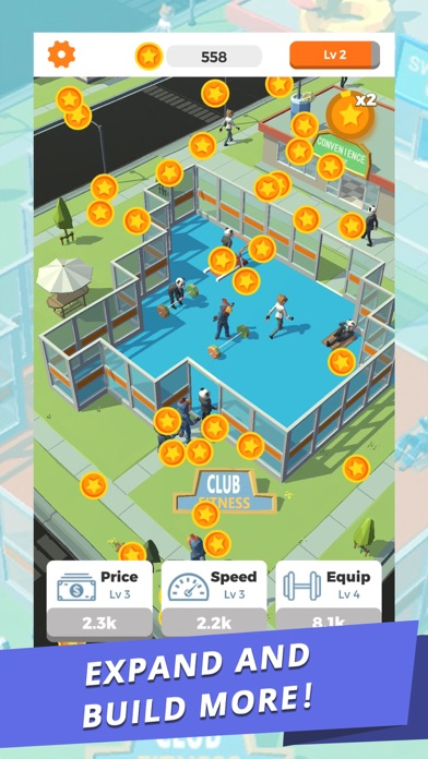 Idle Gym - Fitness Simulation screenshot 4