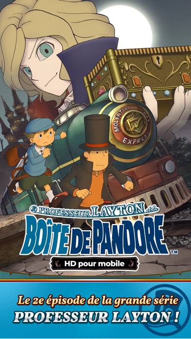 Layton : boîte de Pandore HD sur pc