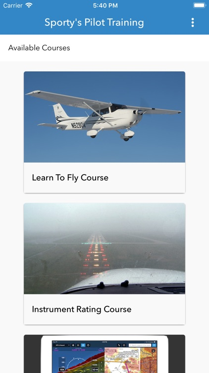 Sporty's Pilot Training screenshot-0