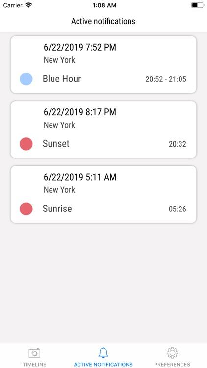 B&G: blue hour, golden hour screenshot-5