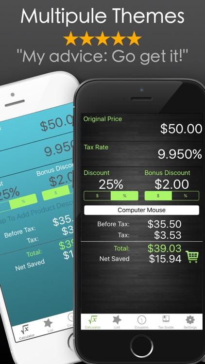 Discount Calculator % Off App screenshot-6