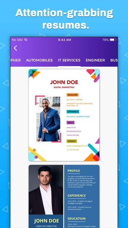 Resume Builder, CV Maker screenshot-8